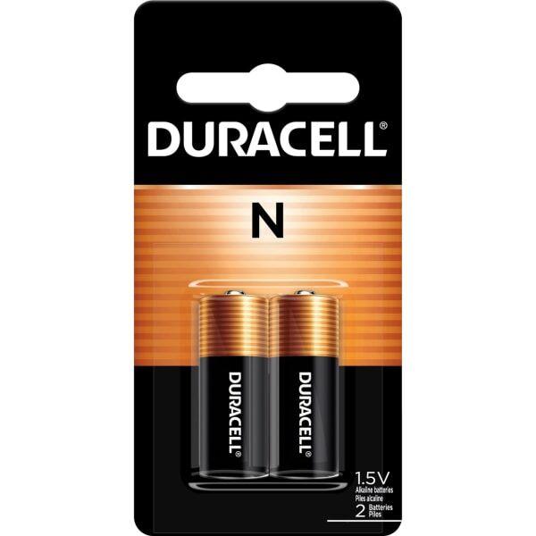 Duracell Coppertop N Alkaline Batteries - For GPS Device, Car Alarm, Keyfob Transmitter - N - 1.5 V