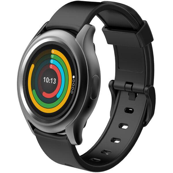 MyKronoz ZeRound 3 Smartwatch, Black, KRZEROUND3-BLACK