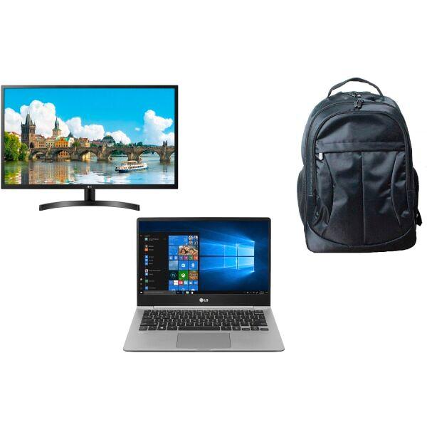 LG gram Laptop, Monitor And Backpack Bundle, 13.3