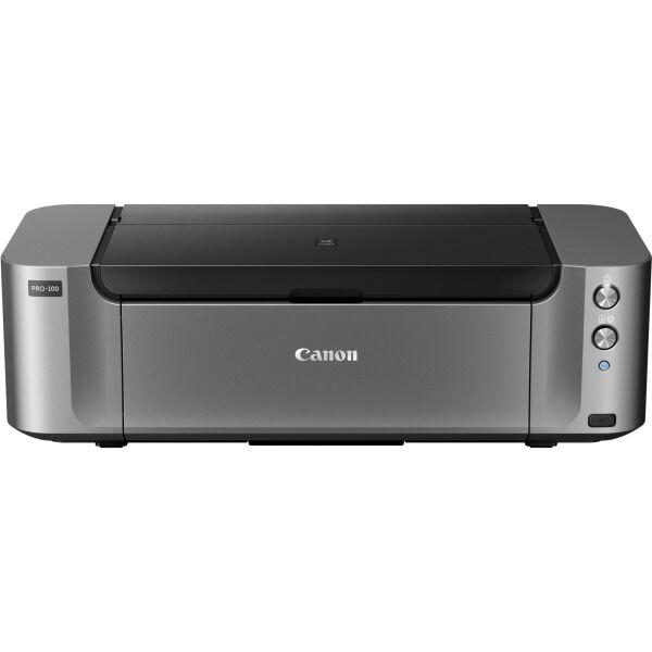 Canon PIXMA PRO-100 - Printer - color - ink-jet - Super B - 4800 x 2400 dpi up to 0.8 min/page (colo