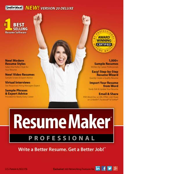 Individual Software ResumeMaker Professional Deluxe 20, Download