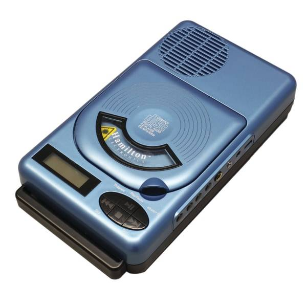 HamiltonBuhl Hamilton Buhl Top-Loading MP3/CD Player With USB And FM Radio, 14
