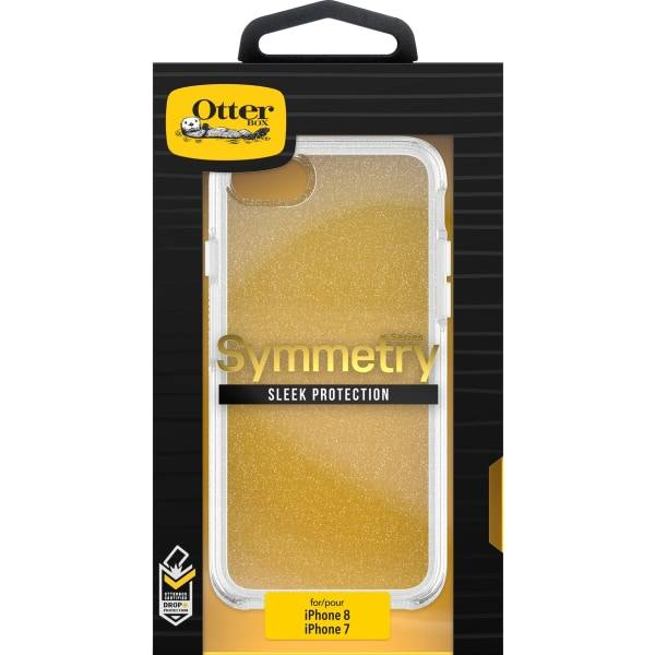 OtterBox Symmetry Case - For Apple iPhone 6, iPhone 6s, iPhone 7, iPhone 8 Smartphone - Stardust - D