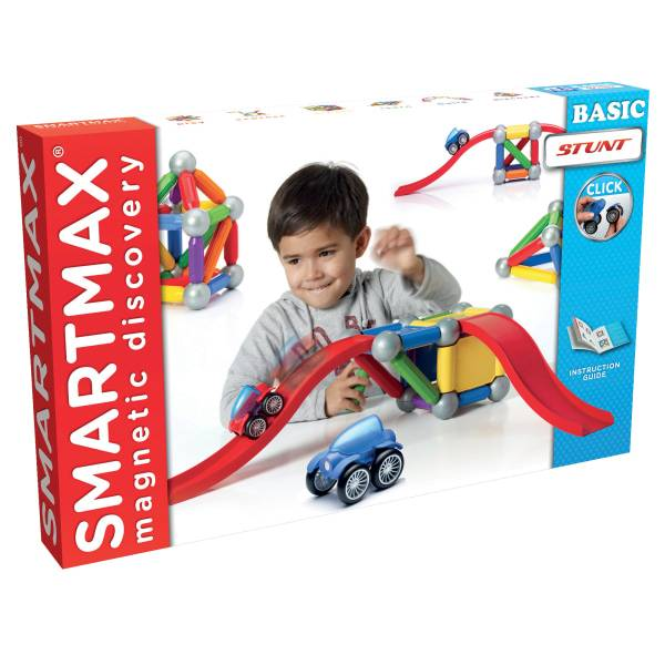 Smart Toys and Games SmartMax Magnets, Basic Stunt, Pre-K - Grade 3
