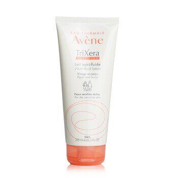 AveneTriXera Nutrition Nutri-Fluid Face & Body Lotion - For Dry Sensitive Skin 200ml/6.7oz