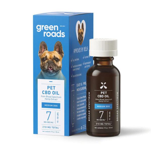 Green Roads CBD Tincture Oil - Dog Drops - Original