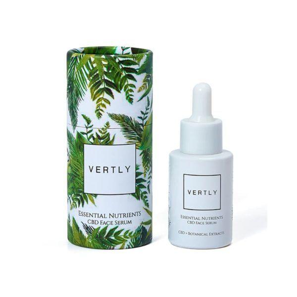 Vertly CBD + Botanical Extracts Face Serum 300mg