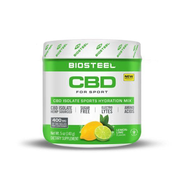 BioSteel CBD Isolate Sports Hydration Mix Lemon Lime 400mg