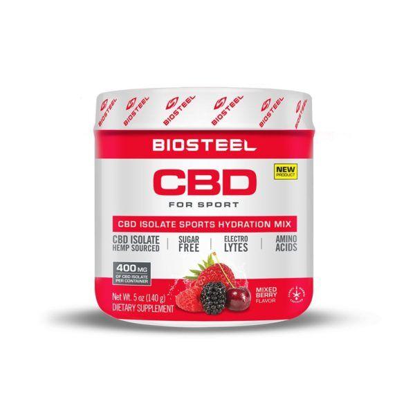 BioSteel CBD Isolate Sports Hydration Mix Mixed Berry 400mg