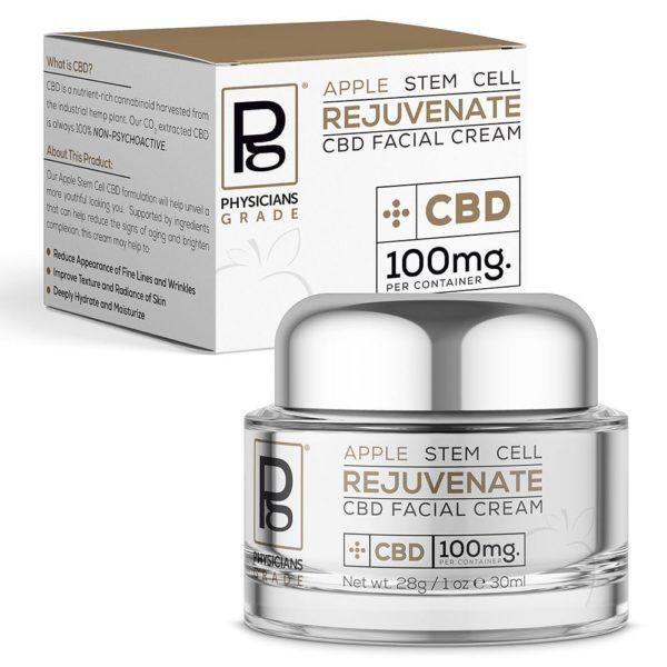 Apple Physicians Grade CBD Apple Stem Cell Cream 100mg