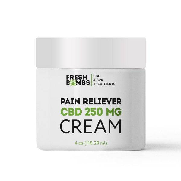 Fresh Bombs CBD Pain Reliever Cream 250mg