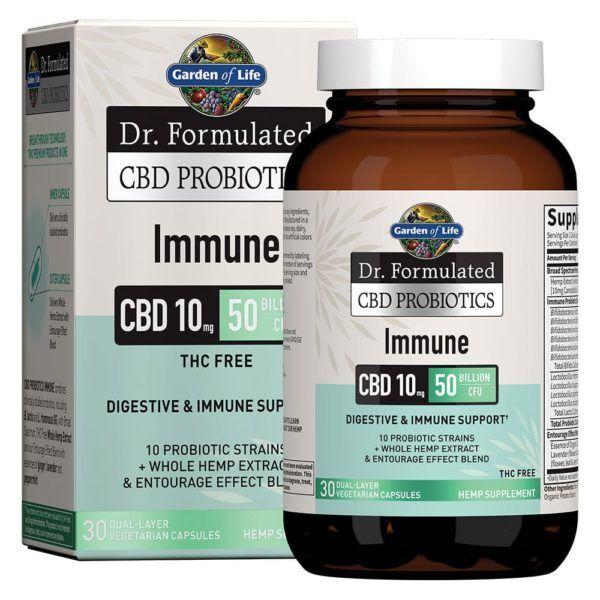 Dr. Formulated CBD Probiotics Immune Softgels 10mg 30 Count