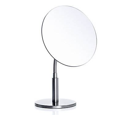 "Blomus Vista Flexible Arm Cosmetic Mirror by Blomus - 7.49"" h x 12.21"" w x 7.29"" d - BLM68847-STAINLESSSTEEL"
