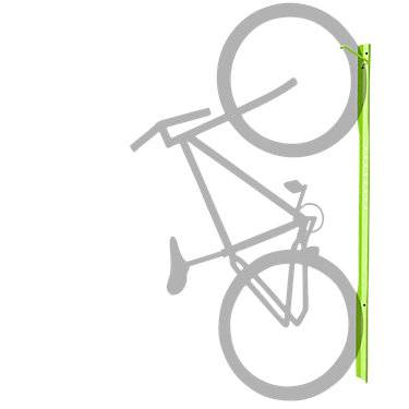 Steelcase Authentic Steelcase Turnstone Bivi Bike Hook - BVTS2BH-4140-WALL MOUNT