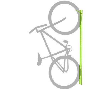 Steelcase Authentic Steelcase Turnstone Bivi Bike Hook - BVTS2BH-4AQ7-WALL MOUNT