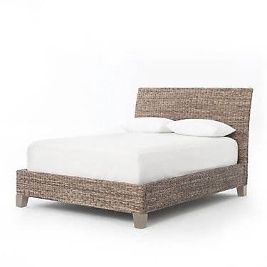 Four Hands Lanai Banana Leaf Bed by Four Hands - Wood