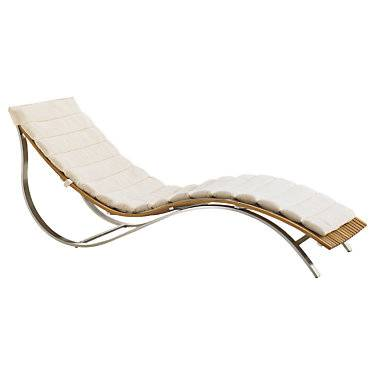 "Tommy Bahama Outdoor Tres Chic Chaise Lounge by Tommy Bahama Outdoor - 28"" h x 26.75"" w x 70.5"" d - Metal/Steel"