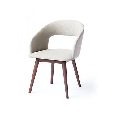Ion Design Niels Dining Armchair, Set of 2 by Ion Design - Grey - Wood