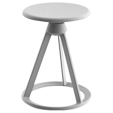 "Knoll Authentic Knoll Piton Outdoor Fixed-Height Stool - 18"" h x 14.25"" w x 14.25"" d - Steel - KNBO10CO-906T-906T"