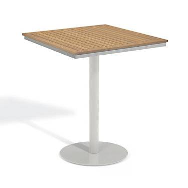 """Oxford Garden Travira 36"""" Square Bar Table by Oxford Garden - 41"""" h x 36"""" w x 36"""" d - Wood"""