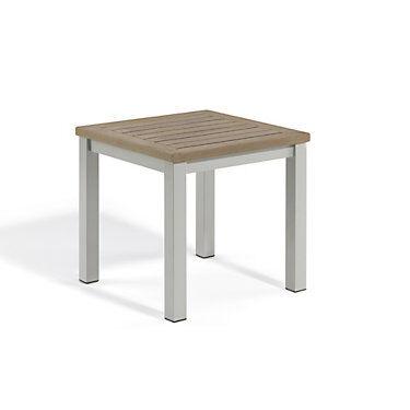 "Oxford Garden Travira End Table by Oxford Garden - 17.75"" h x 17.75"" w x 17.75"" d - Wood - OXTVE-TV"