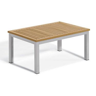 "Oxford Garden Travira Coffee Table by Oxford Garden - 19.5"" h x 41.75"" w x 27.5"" d - Wood - OXTVTA-N"