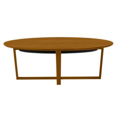 Skovby Coffee Table SM 231 by Skovby - Cherry - Wood