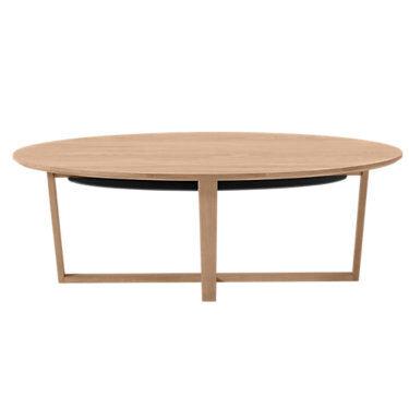 Skovby Coffee Table SM 231 by Skovby - Wood - SKSM231-BEECH_SOAPFINISHED
