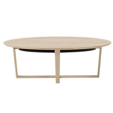 Skovby Coffee Table SM 231 by Skovby - White - Wood