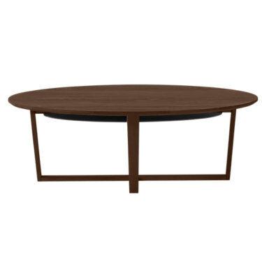 Skovby Coffee Table SM 231 by Skovby - Walnut - Wood