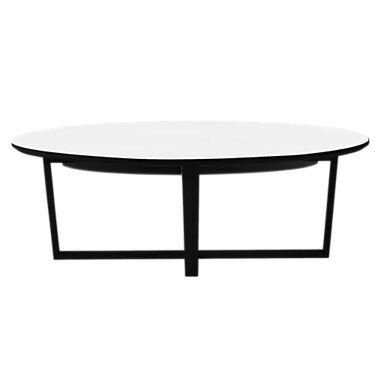 Skovby Coffee Table SM 231 by Skovby - White - Wood - SKSM231-WENGE WHITE LAMINATE