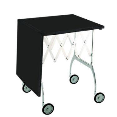 Kartell Battista Folding Trolley - Black - Steel