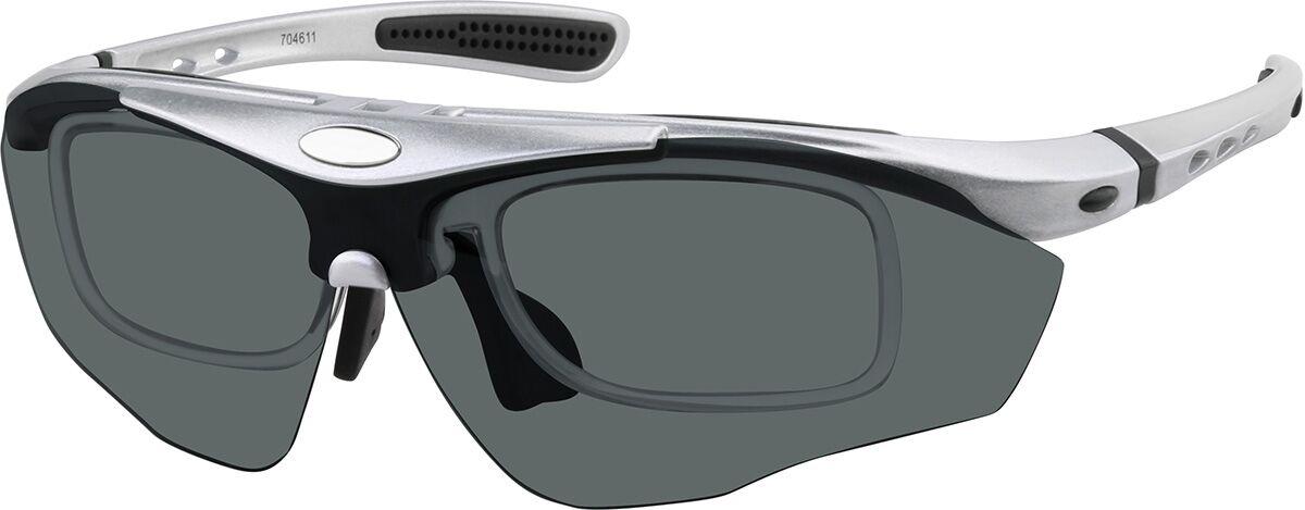 Zenni Optical Sport Sunglasses  - Silver