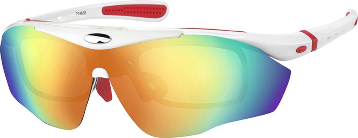 Zenni Optical Sport Sunglasses  - White