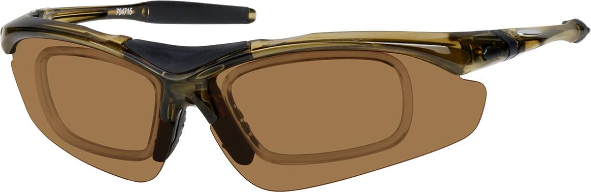 Zenni Optical Sport Sunglasses  - Brown
