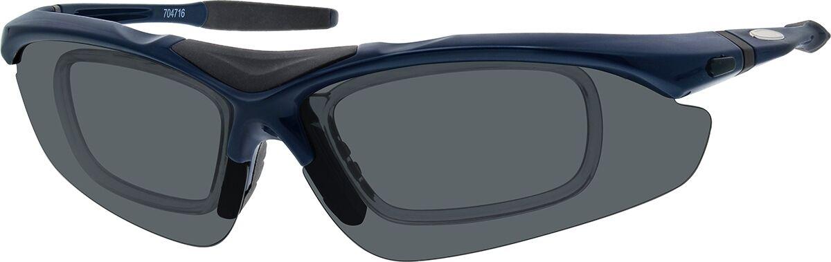 Zenni Optical Sport Sunglasses  - Blue