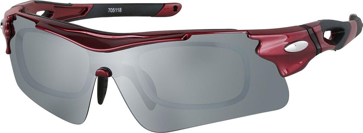 Zenni Optical Sports Sunglasses  - Red