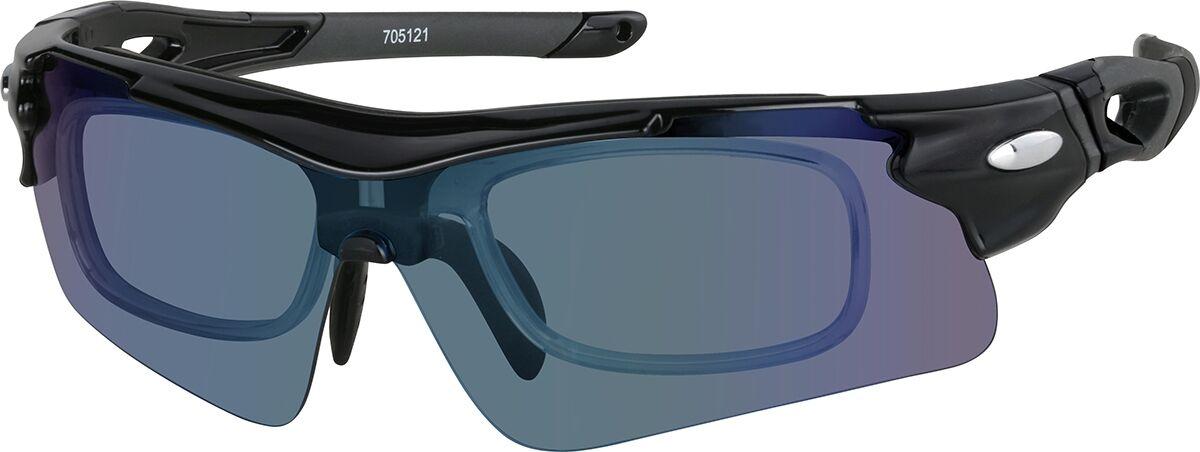 Zenni Optical Sports Sunglasses  - Black