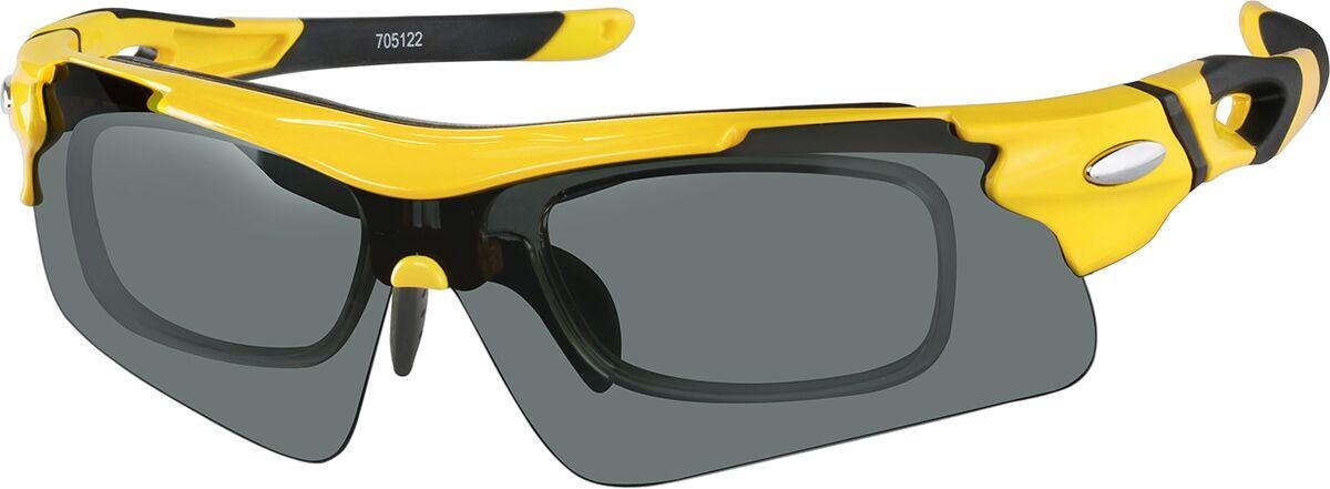 Zenni Optical Sports Sunglasses  - Yellow