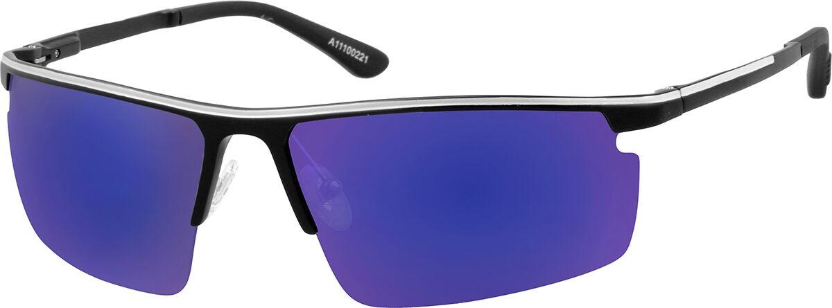Zenni Optical Non-Prescription Sport Sunglasses  - Black