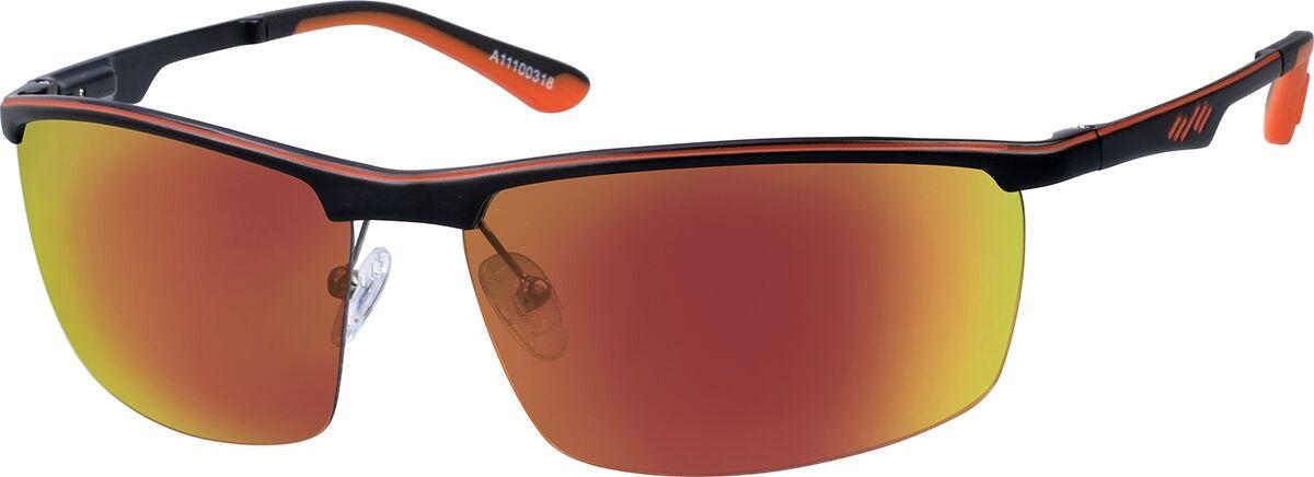 Zenni Optical Non-Prescription Sport Sunglasses  - Red