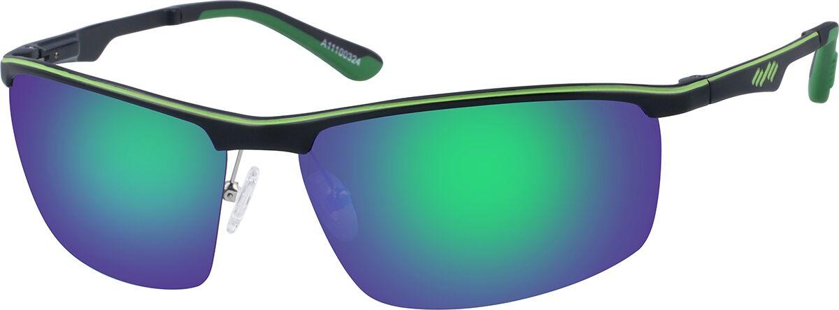 Zenni Optical Non-Prescription Sport Sunglasses  - Green