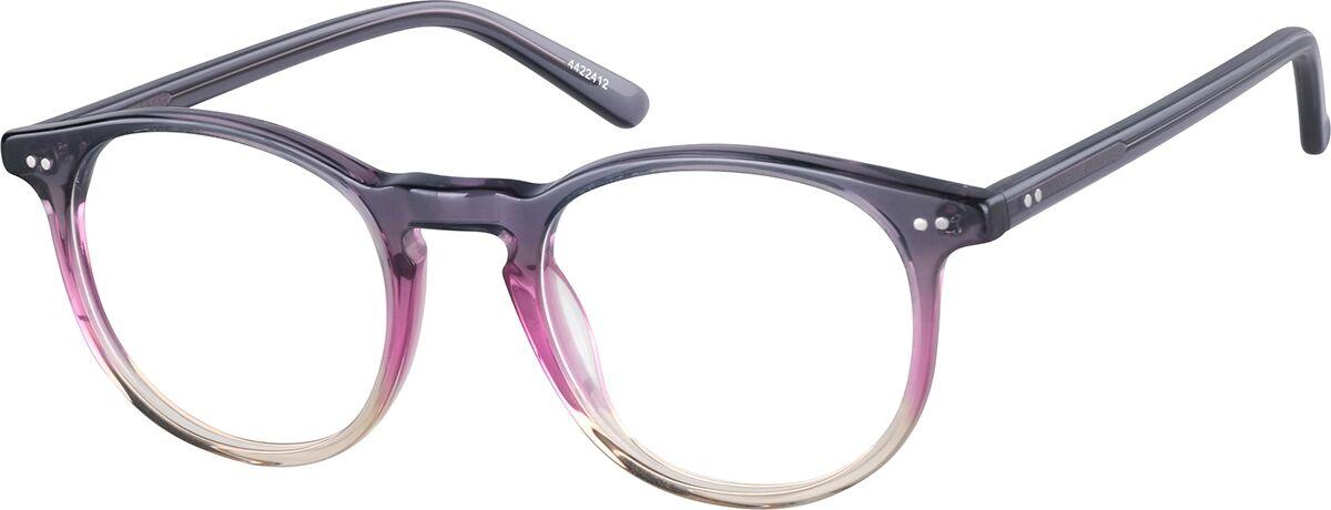 Zenni Optical Round Glasses  - Purple