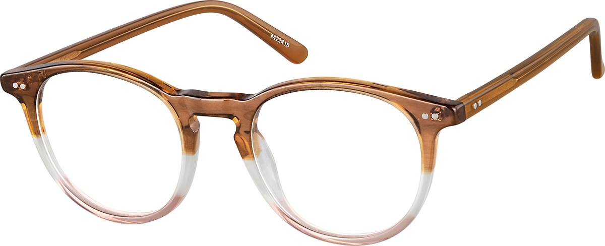 Zenni Optical Round Glasses  - Brown