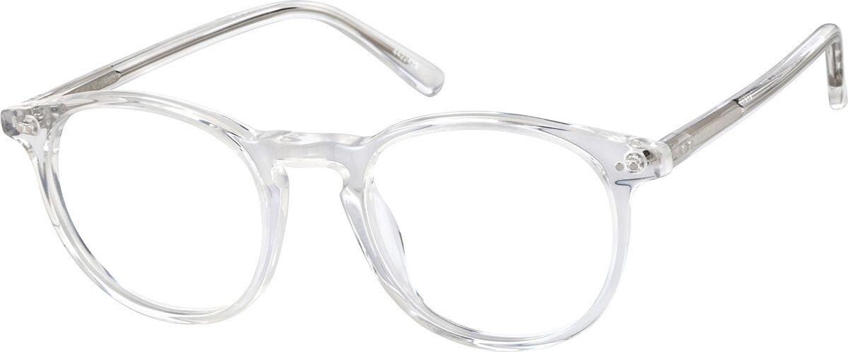 Zenni Optical Kids' Round Eyeglasses  - Translucent