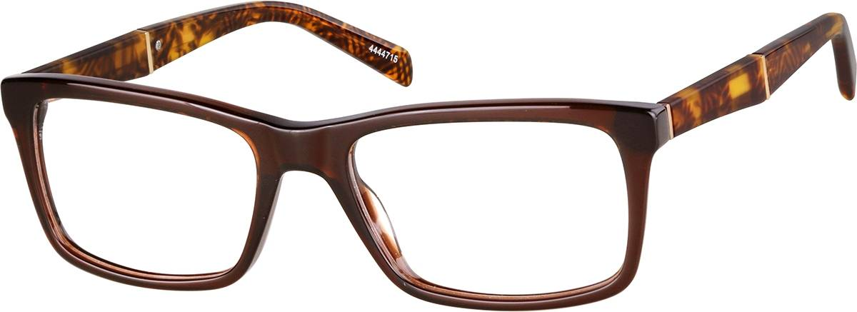 Zenni Optical Rectangle Glasses  - Brown