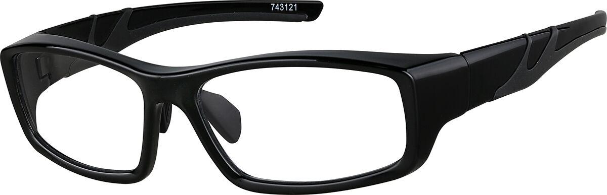 Zenni Optical Prescription Sports Glasses  - Black