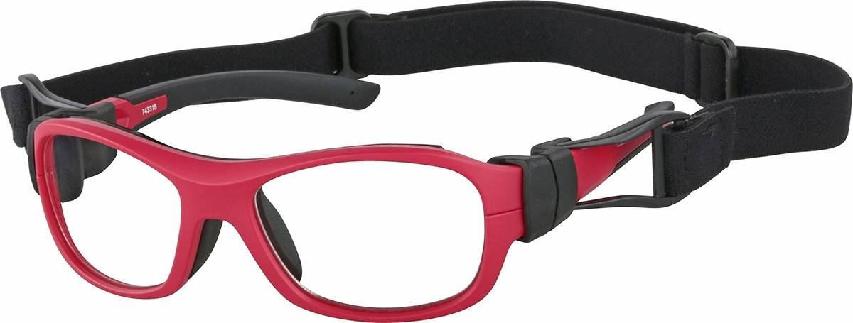 Zenni Optical Kids' Sport Protective Goggles  - Red