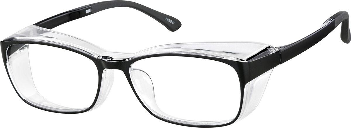 Zenni Optical Protective Glasses  - Black