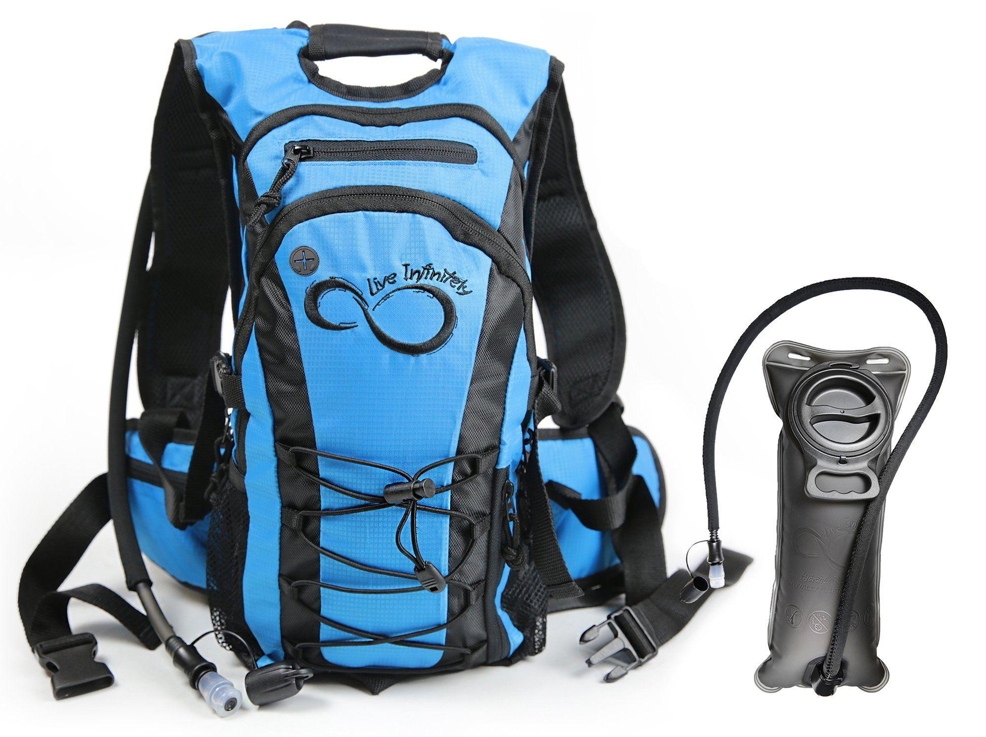 Purple Angel Hydration BackpackK & 2.0L Water Bladder